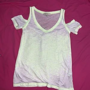 Zara open shoulder top